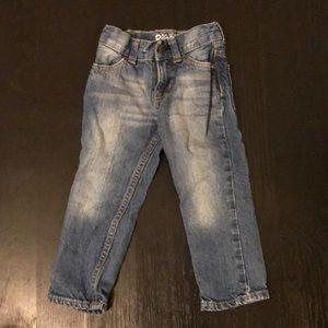 Osh Kosh straight leg jeans toddler 2T